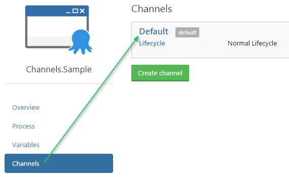 Open Default Channel