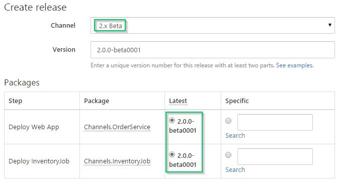 Create Beta Release