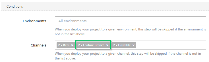 Add Feature Branch Channel to Deploy InventoryJob Step