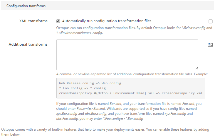 The Power Of Configuration Transformations Octopus Deploy