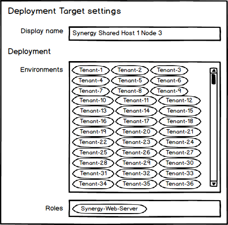 Deployment Targets - By Name