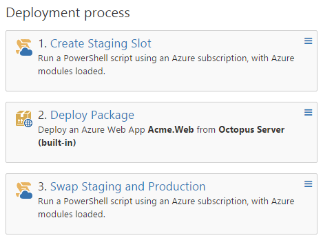 Blue green deployments with Azure Web Apps