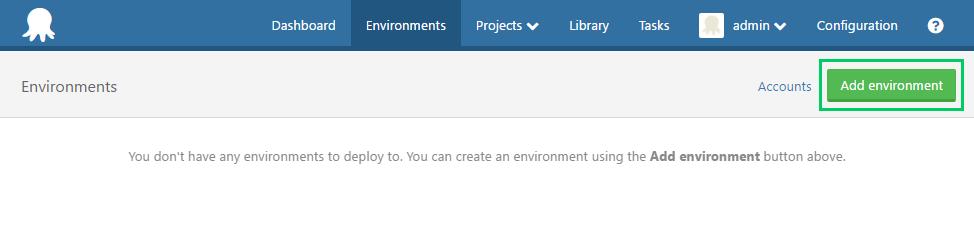 Create Environment