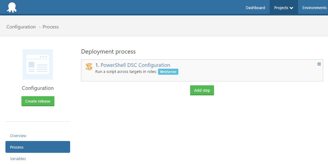 Configuration project