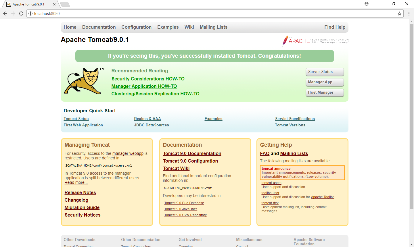 Installing Tomcat From Scratch - Octopus Deploy