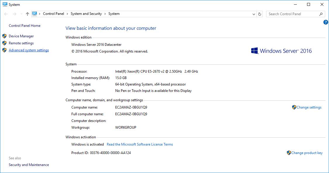 Windows Environment Variables 1
