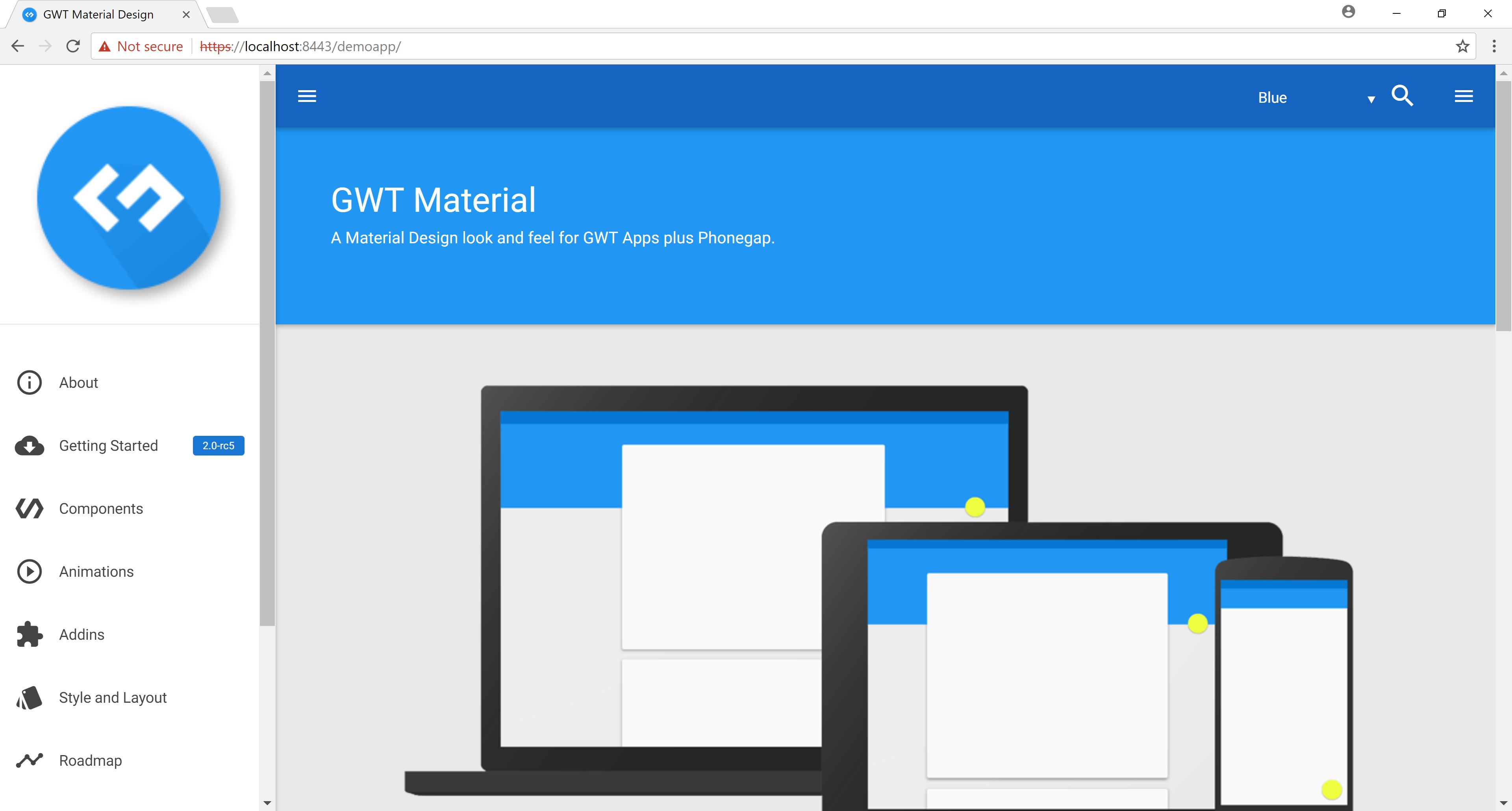 GWT Demo App
