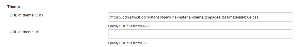 Jenkins CSS theme