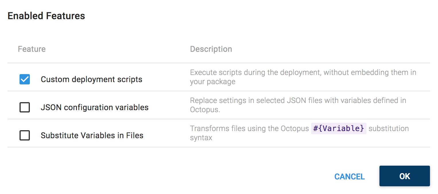 Custom Deployment Scripts
