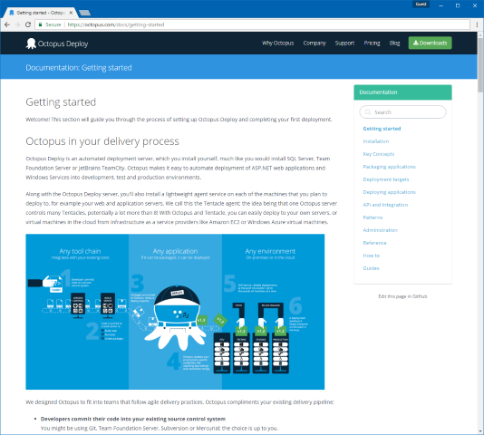 New Home for Octopus Documentation | Octopus Deploy