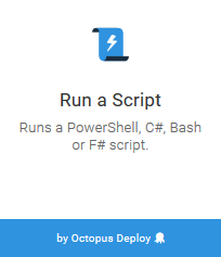 Run a Script