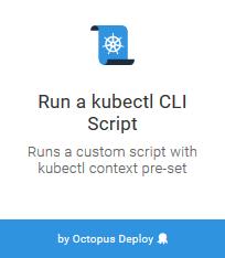 Kubernetes Script Step