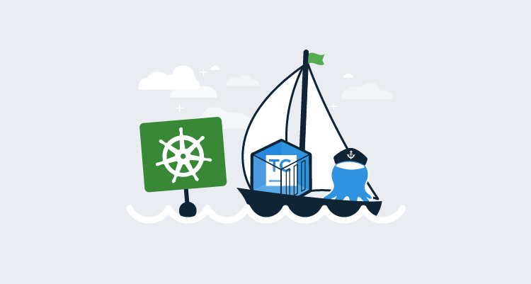 Deploying TeamCity to Kubernetes using Octopus Deploy
