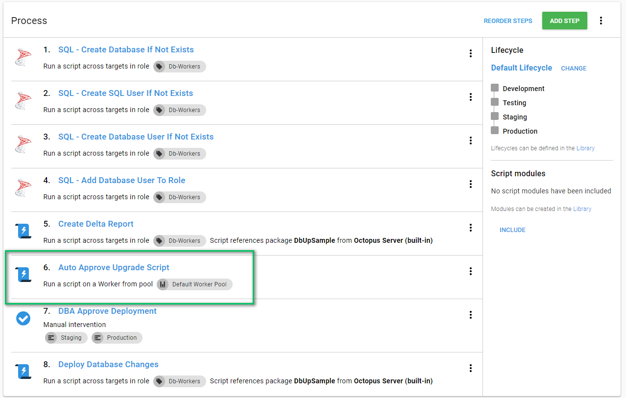 Automatic Approvals in your Automated Database Deployment Process