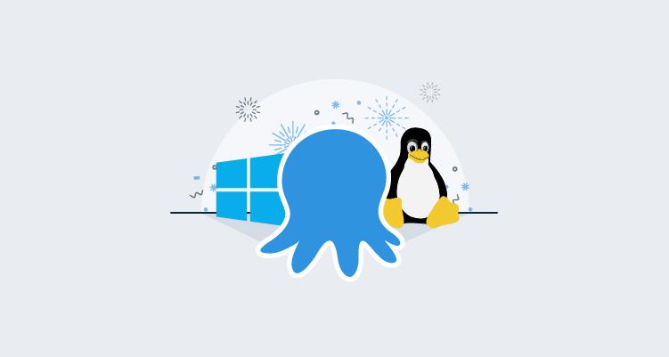 Ending support for Octopus Server on Windows Server 2008. Introducing Octopus Server on Linux!
