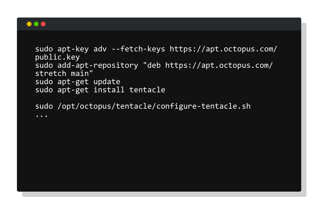Tentacle for Linux configuration
