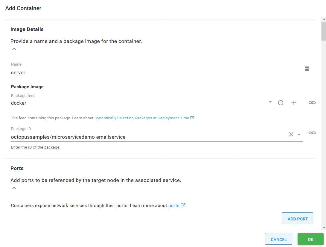 Updating the Docker image