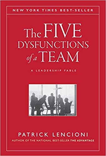 The Five Dysfunctions of a Team (Lencioni: 2002)