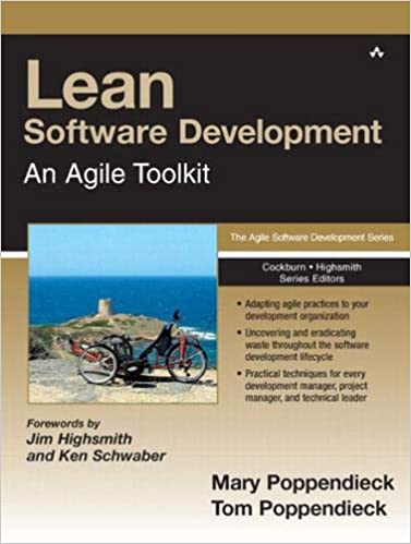 Lean Software Development: An Agile Toolkit (Poppendieck, Poppendieck: 2003)