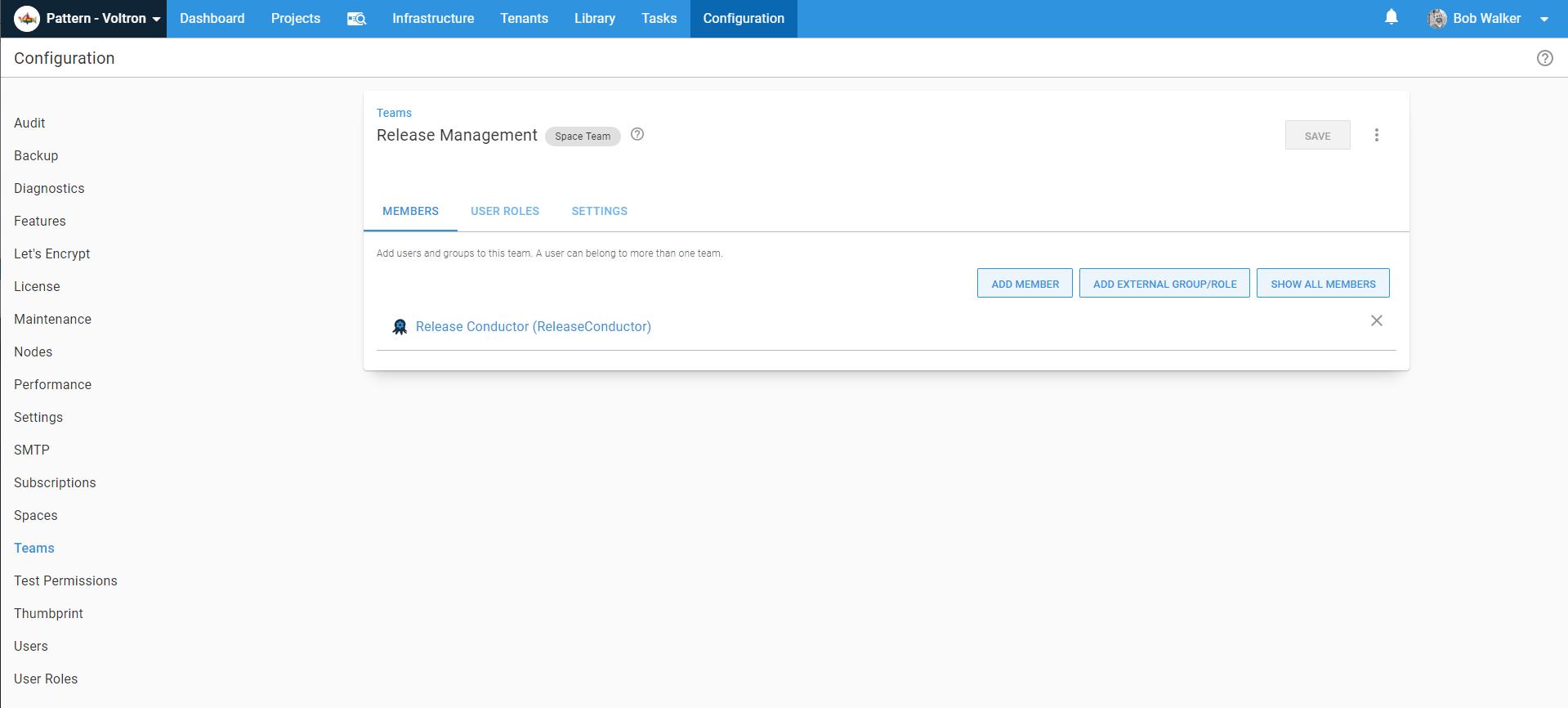 release management team