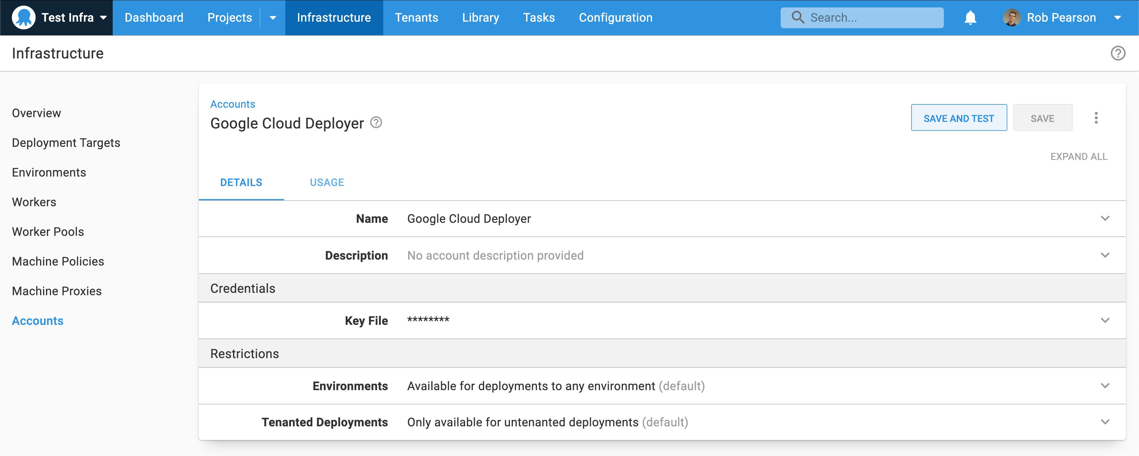 Google Cloud deployer