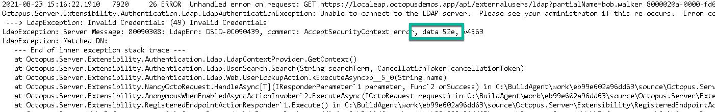 data error code