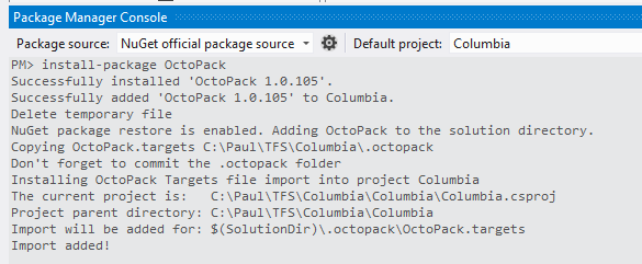 Add OctoPack