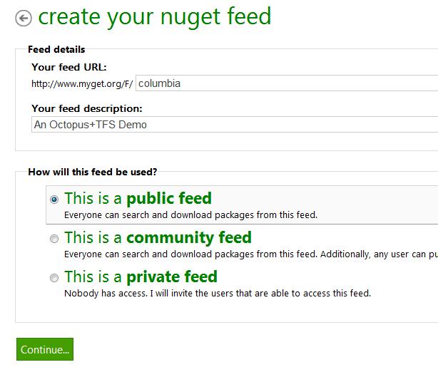 MyGet feed
