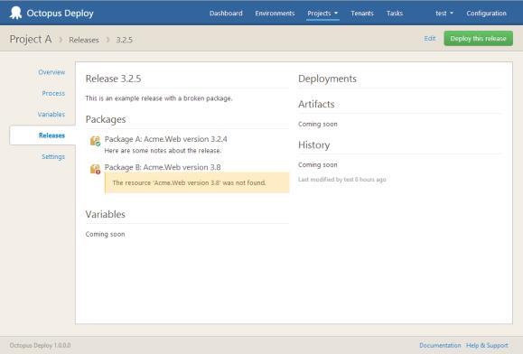 Octopus 2.0 UI: Release details