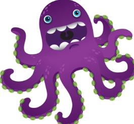 Old angry Octopus