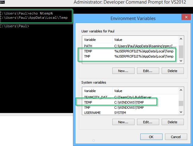 C users administrator appdata local temp