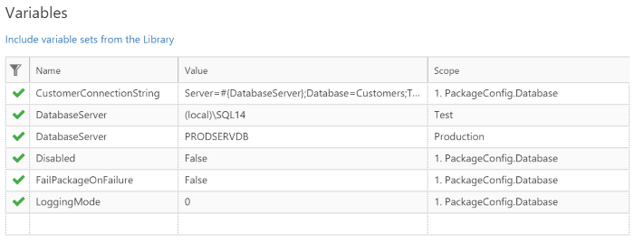 Deploying Database Configuration Tables with Octopus Deploy