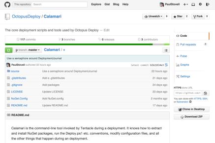 Calamari GitHub repository