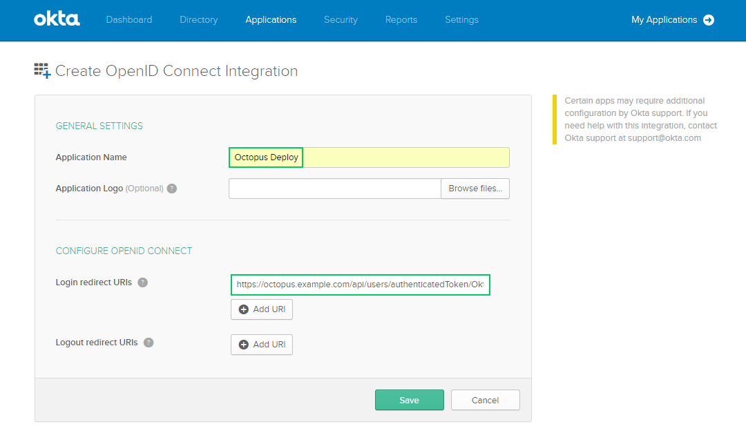 okta authentication octopus deploy UPS Mapping enter s octopus ex le api users authenticatedtoken okta replacing s octopus ex le with the public url of your octopus server