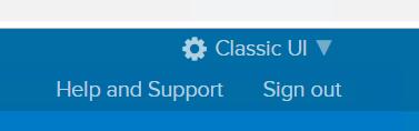 Okta Classic UI