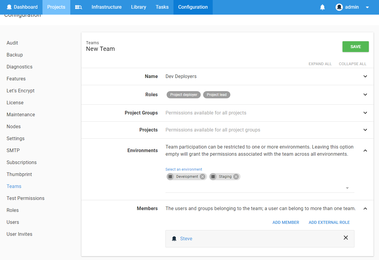 Users and Teams - Octopus Deploy