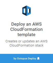 Deploy an AWS CloudFormation Template Step