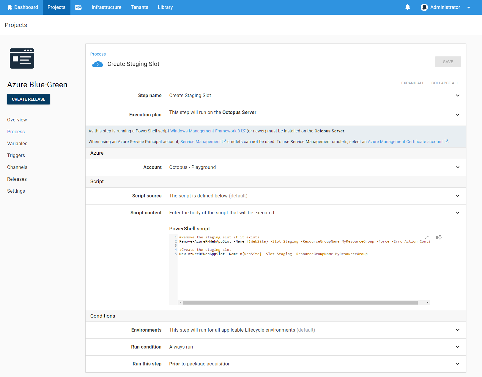 Using Deployment Slots with Azure Web Apps - Octopus Deploy