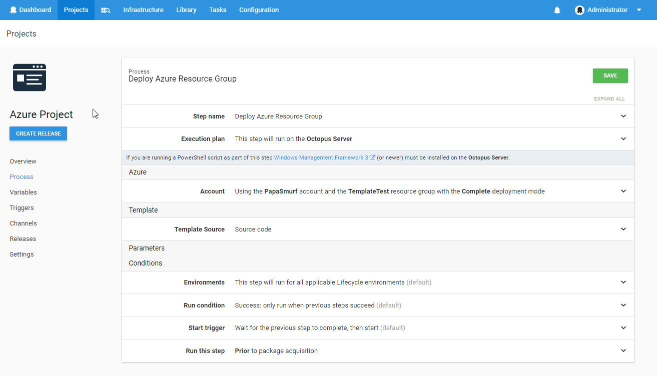 Deploy Using An Azure Resource Manager Template Octopus Deploy