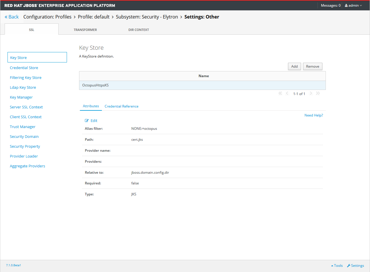 Import Certificates into WildFly and JBoss EAP - Octopus Deploy