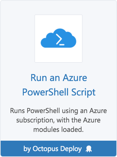 Azure PowerShell Scripts | Octopus Deploy
