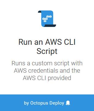 AWS CLI PowerShell Scripts - Octopus Deploy