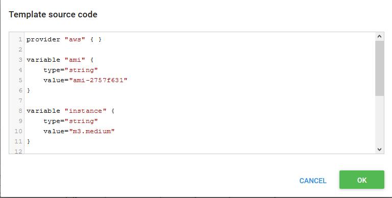 Source Code Dialog