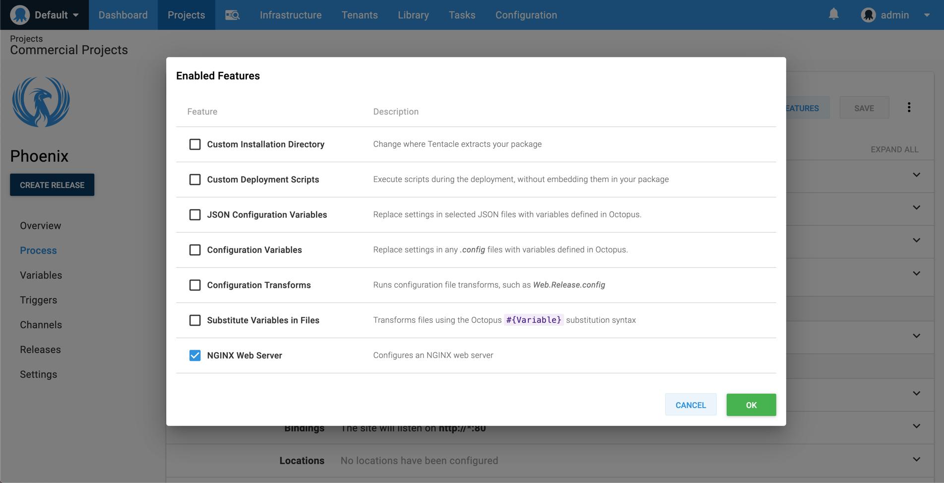 NGINX Web Server screenshot