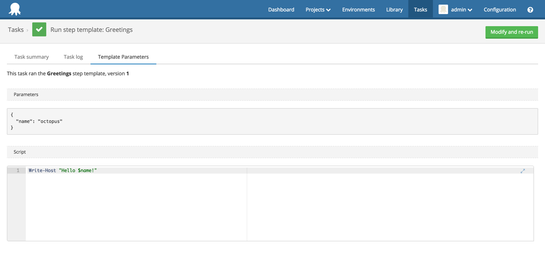 task log template