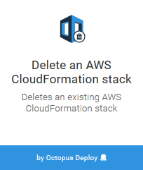 Remove a CloudFormation stack Step