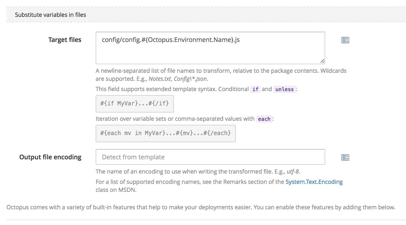 Octopus Xml Transform Configure Octopus Depl...