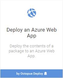 Azure Web App tile