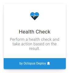Health check step