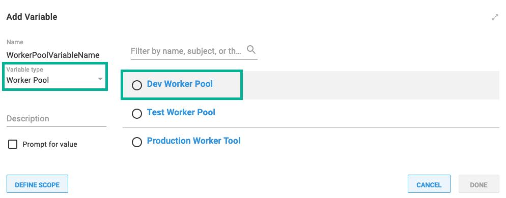 Add worker pool variable type